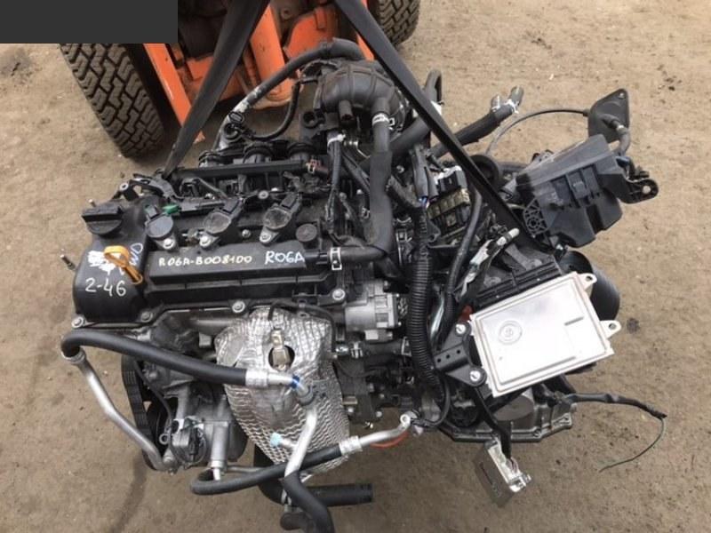 Двигатель Mazda Flair MJ34S R06A