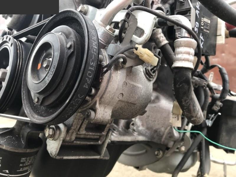 Компрессор кондиционера Daihatsu Esse L235S KF-VE