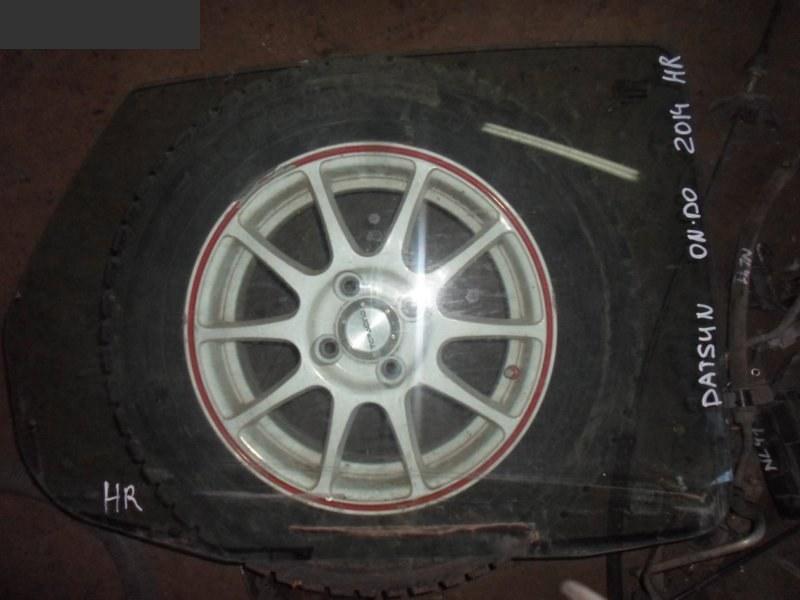Стекло боковое Datsun On-Do 2014 заднее правое