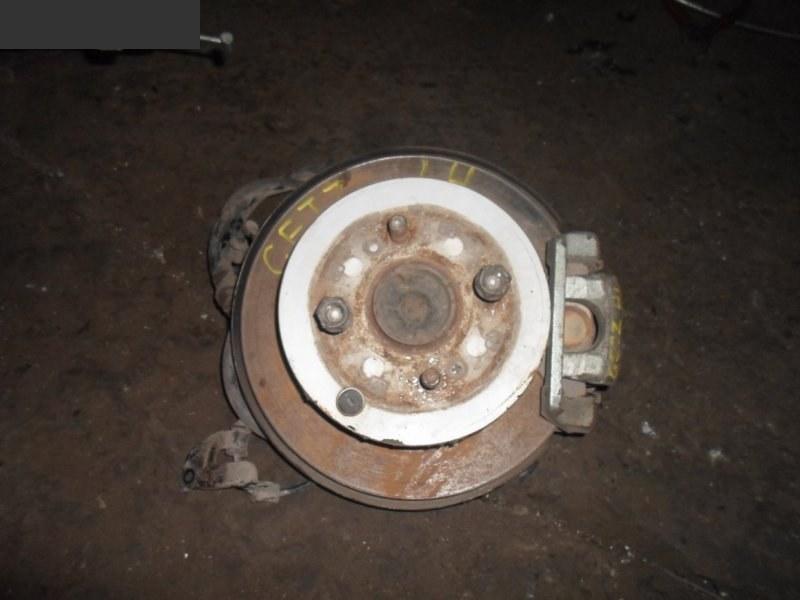 Диск тормозной Hyundai Getz G4EE 2007 задний левый