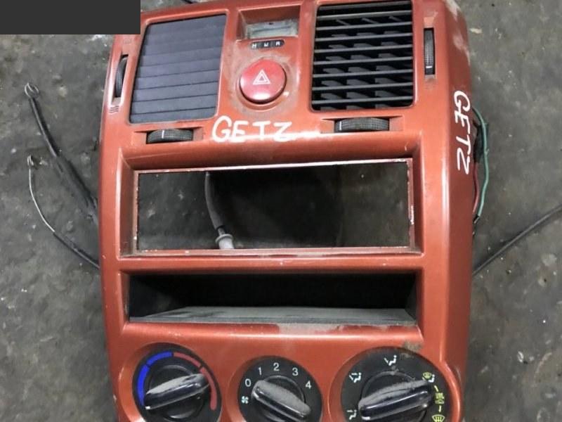 Блок управления климат-контролем Hyundai Getz