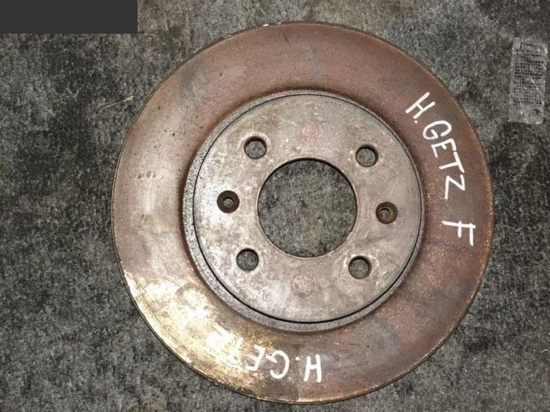 Диск тормозной Hyundai Getz передний