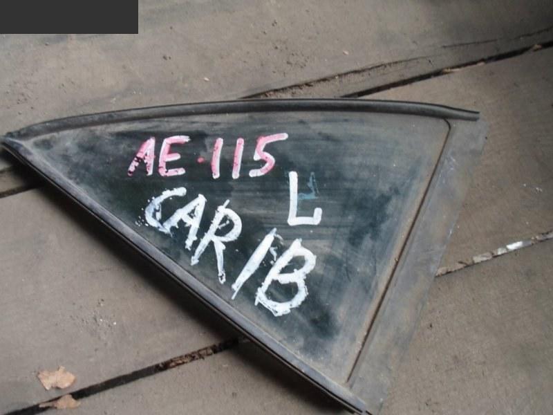 Форточка дверная Toyota Sprinter Carib AE115G задняя левая