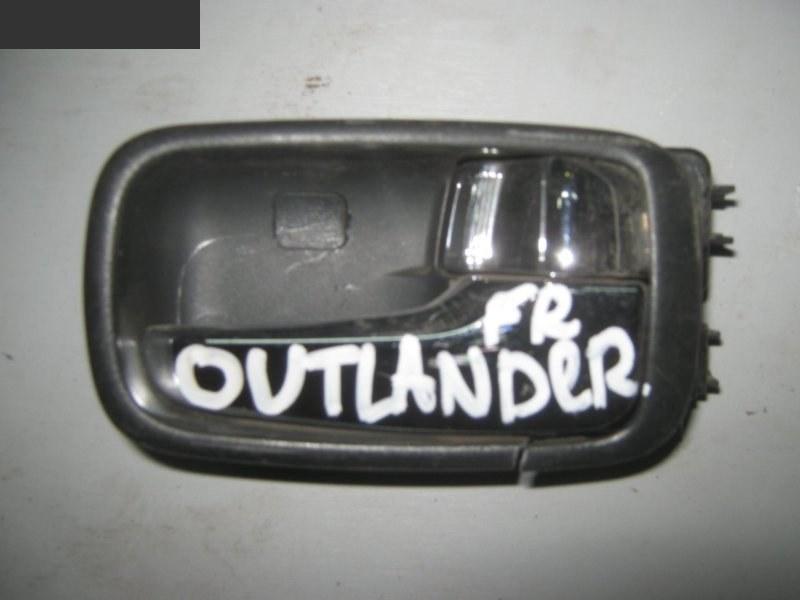 Ручка внутренняя Mitsubishi Outlander CU5W 4G69 2005 правая