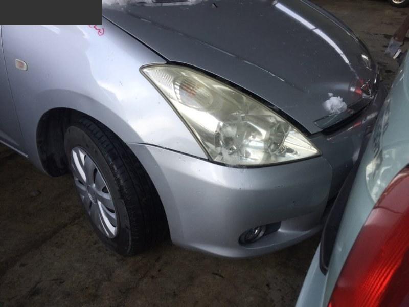 Защита радиатора Toyota Wish ZNE10G 1ZZ-FE передняя верхняя