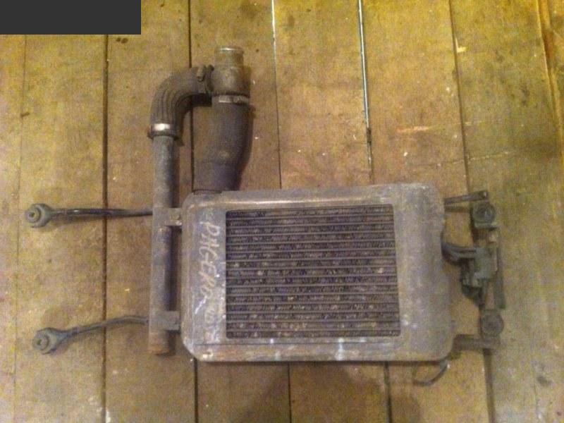 Радиатор интеркулера Mitsubishi Pajero