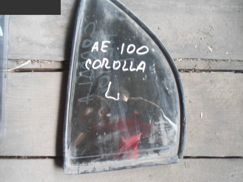 Форточка дверная Toyota Corolla AE100 задняя левая