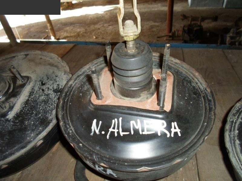 Вакуумный усилитель тормоза и сцепления Nissan Almera N15
