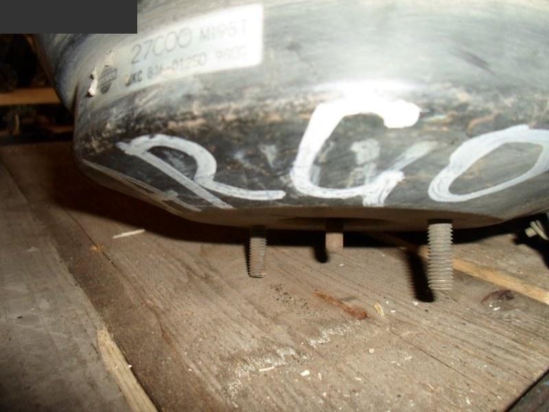 Вакуумный усилитель тормоза и сцепления Nissan Largo