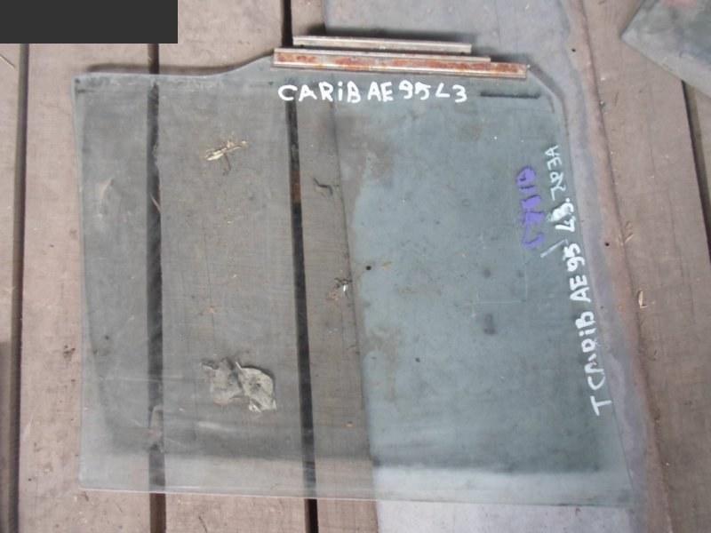Стекло боковое Toyota Caribe НЕ ОПРЕД заднее левое