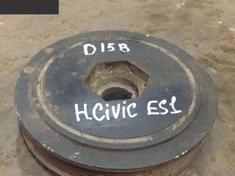 Шкив коленвала Honda Civic Ferio ES1 D15B