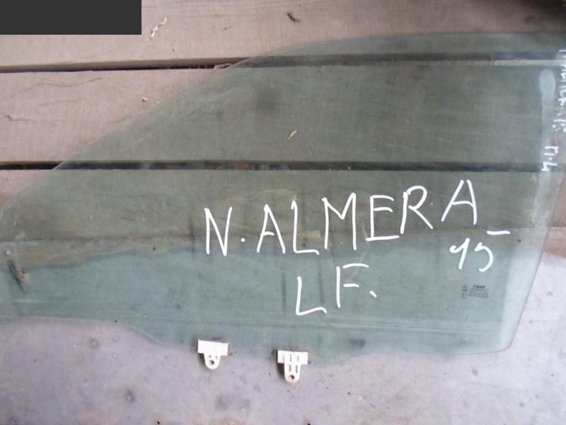 Стекло боковое Nissan Almera N15 переднее левое
