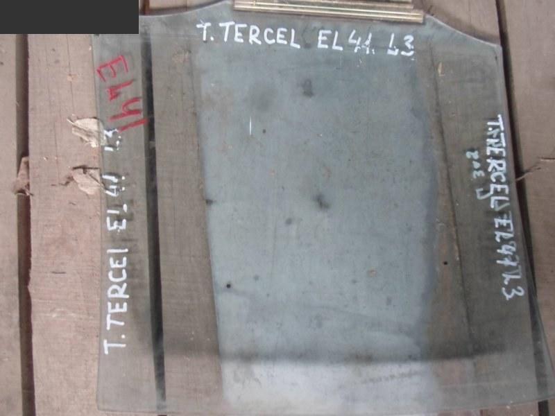 Стекло боковое Toyota Tercel EL41 заднее левое