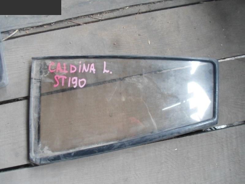 Форточка дверная Toyota Caldina ST190G задняя левая