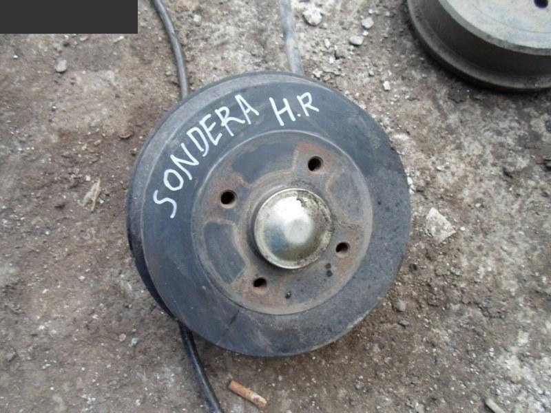 Ступица Renault Sandero НЕ ОПРЕД задняя правая