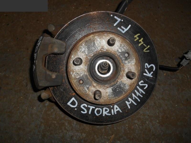 Ступица Daihatsu Storia M111S K3-VE передняя левая