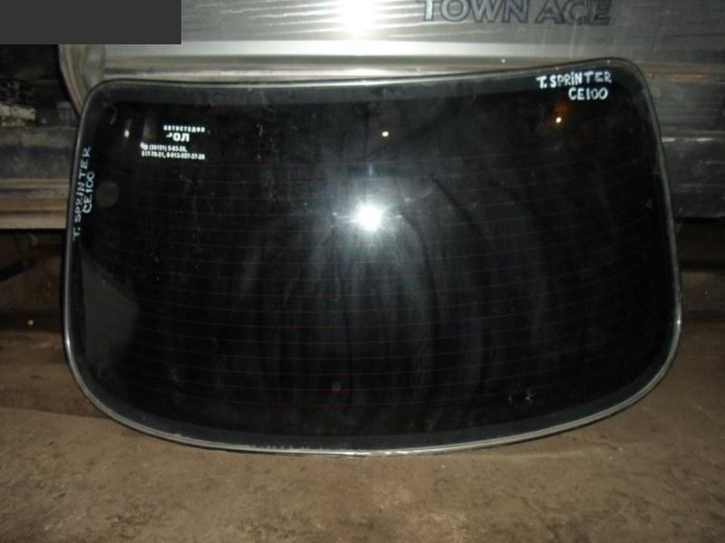 Стекло заднее Toyota Sprinter CE100