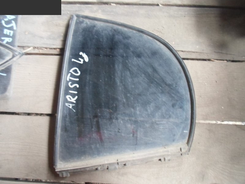 Форточка дверная Toyota Aristo JZS161 задняя левая