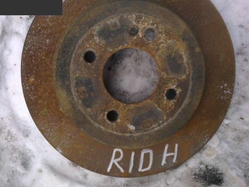 Диск тормозной Kia Rio RIO III (UB) 2012 задний