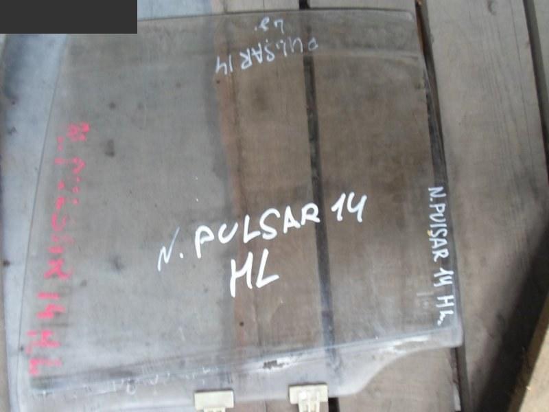 Стекло боковое Nissan Pulsar EN14 заднее левое