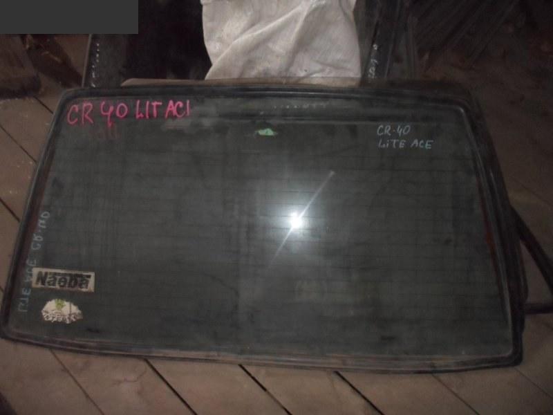 Стекло заднее Toyota Liteace Noah CR40G