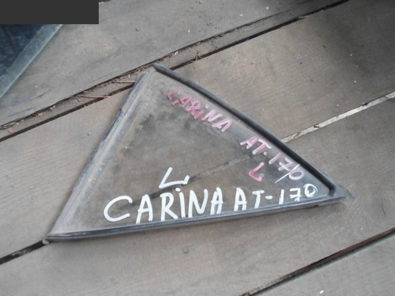 Форточка дверная Toyota Carina AT170 задняя левая