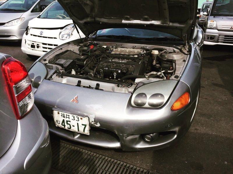 Суппорт Mitsubishi Gto Z15A 6G72 передний правый