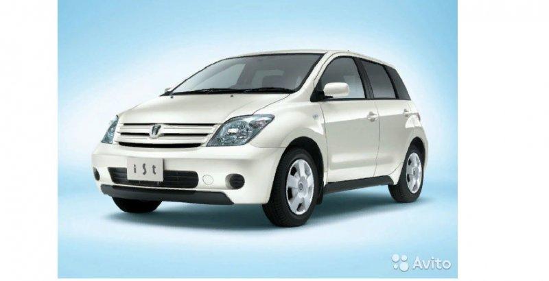 Накладка петли багажника Toyota Ist NCP60 2NZ