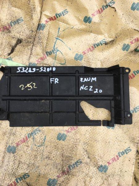 Защита радиатора Toyota Raum NCZ20 1NZ-FE передняя правая
