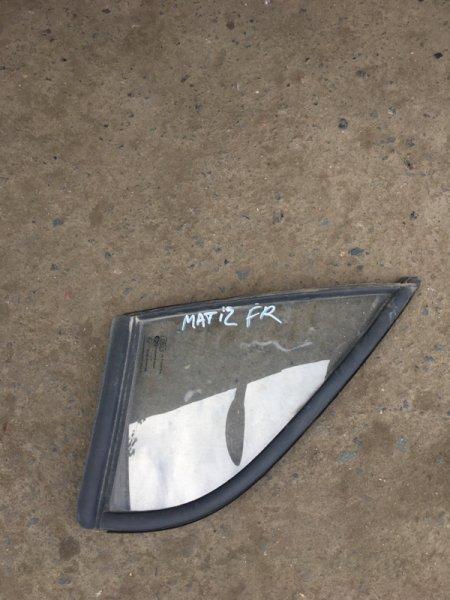 Форточка дверная Daewoo Matiz F8CV 2007 передняя правая