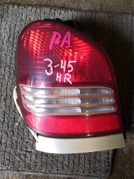 Фонарь стоп-сигнала Toyota Spacio AE-111 4A-FE левый