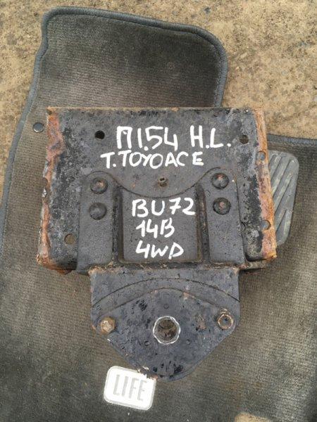Опора рессоры Toyota Toyoace BU72 14B задняя левая
