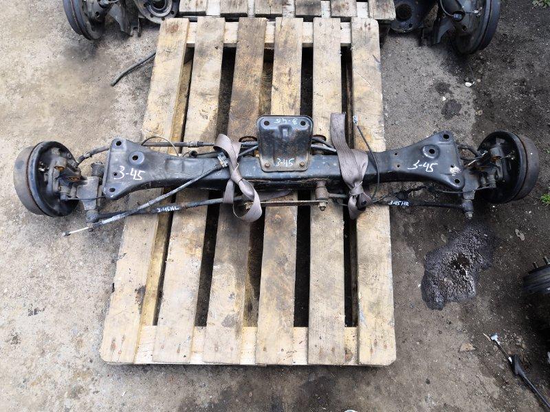 Балка поперечная Toyota Spacio AE-111 4A-FE задняя