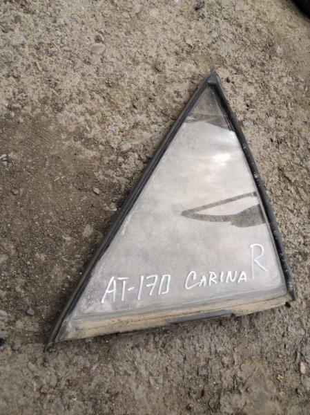 Форточка дверная Toyota Carina AT170 правая