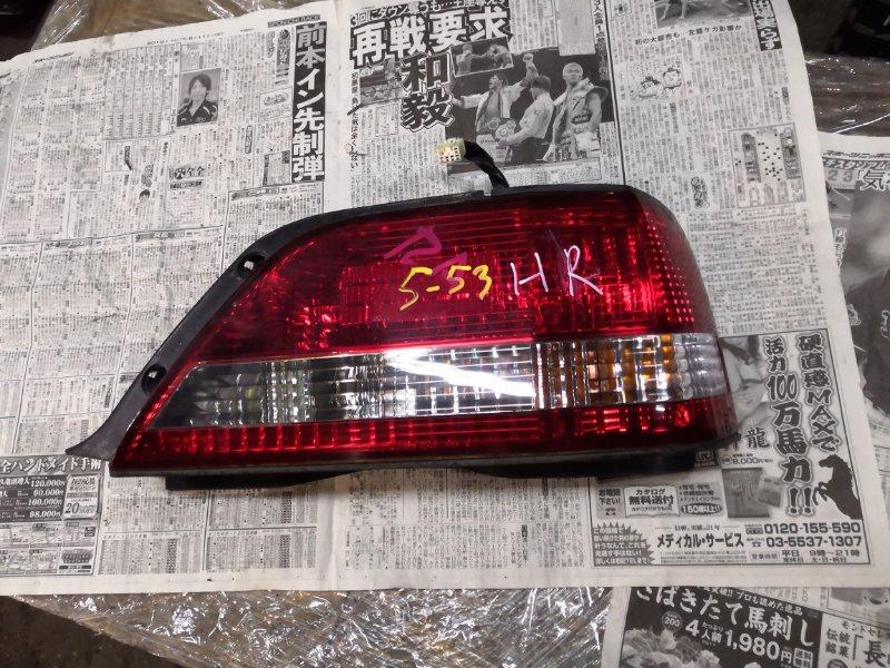 Фонарь стоп-сигнала Toyota Cresta JZX100 1JZ-GE правый