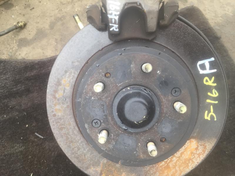 Диск тормозной Honda Inspire UC1 J30A задний правый