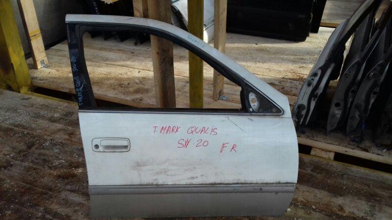 Дверь боковая Toyota Mark Ii Qualis SXV20W передняя правая