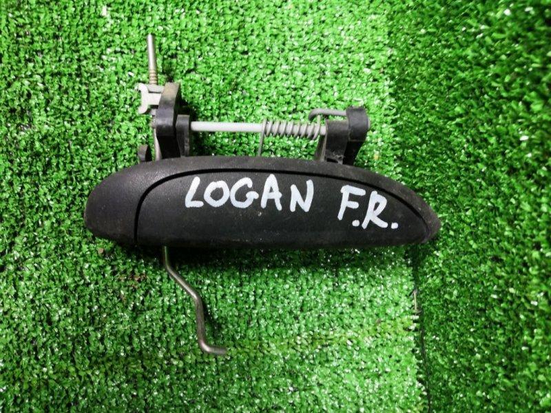 Ручка наружная Renault Logan НЕ ОПРЕД K7M 710 2009 передняя правая