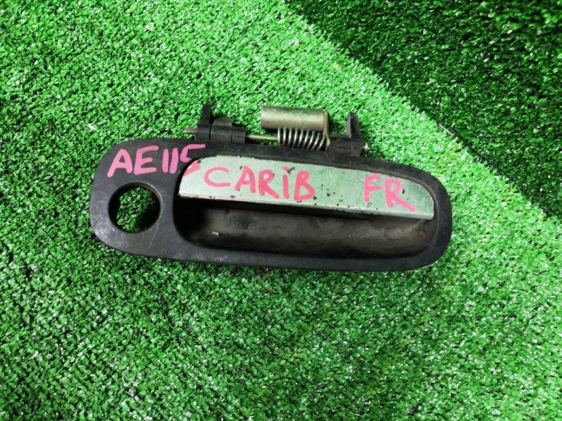 Ручка наружная Toyota Sprinter Carib AE115G передняя правая