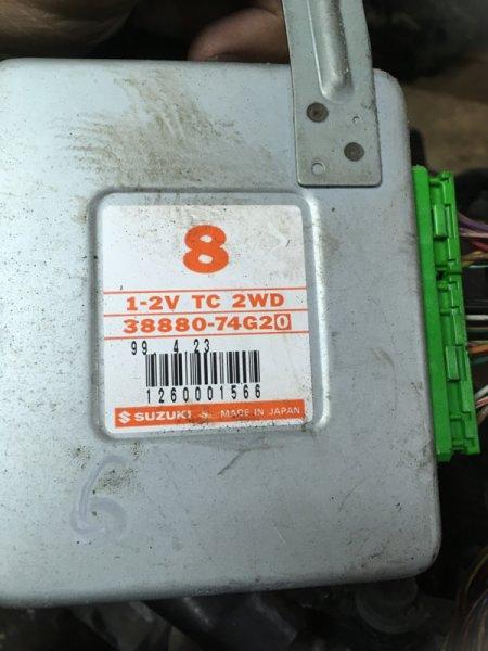 Блок управления кпп Suzuki Alto HN11S F6A-T