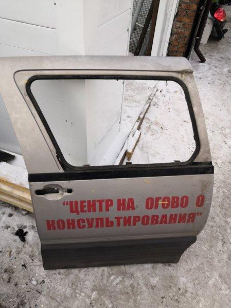 Дверь боковая Toyota Estima Emina CXR 20 задняя левая
