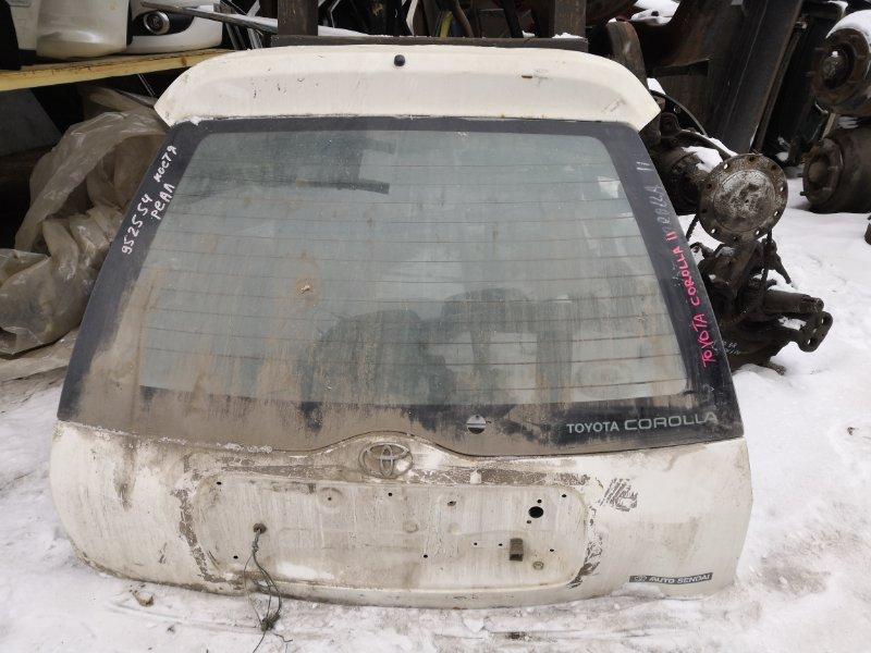 Дверь задняя багажника Toyota Corolla AE115