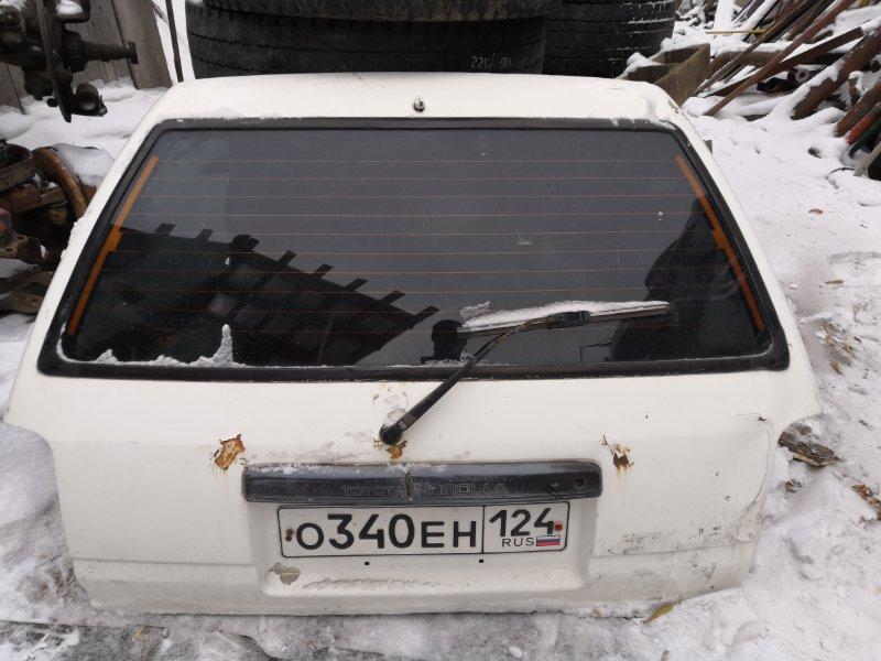 Дверь задняя багажника Toyota Corolla AE 96
