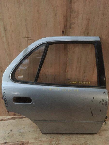 Дверь боковая Toyota Camry SV30 задняя правая