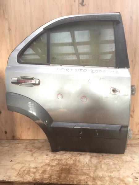 Дверь боковая Kia Sorento 2002 задняя правая