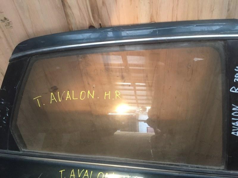 Стекло боковое Toyota Avalon заднее правое