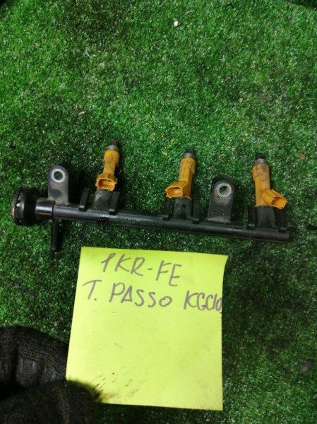 Топливная рейка Toyota Passo KGC10 1KR-FE
