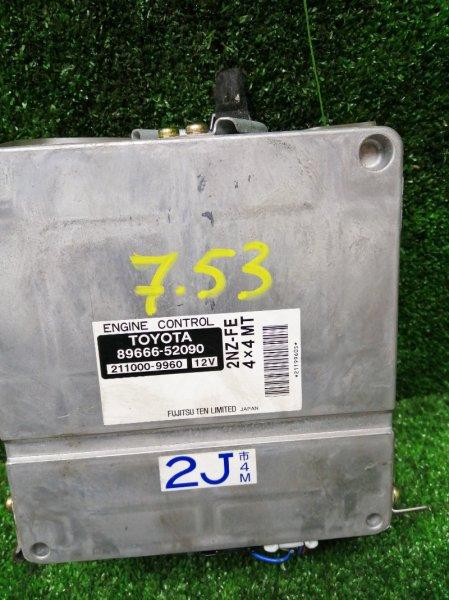 Блок управления двс Toyota Platz NCP16 2NZ-FE