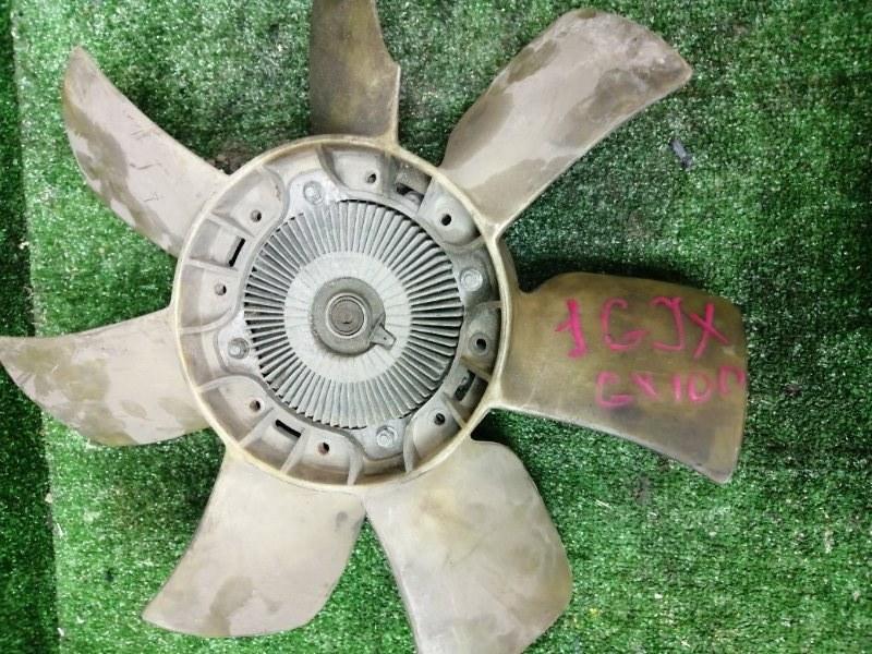Вискомуфта вентилятора радиатора Toyota Mark Ii GX100