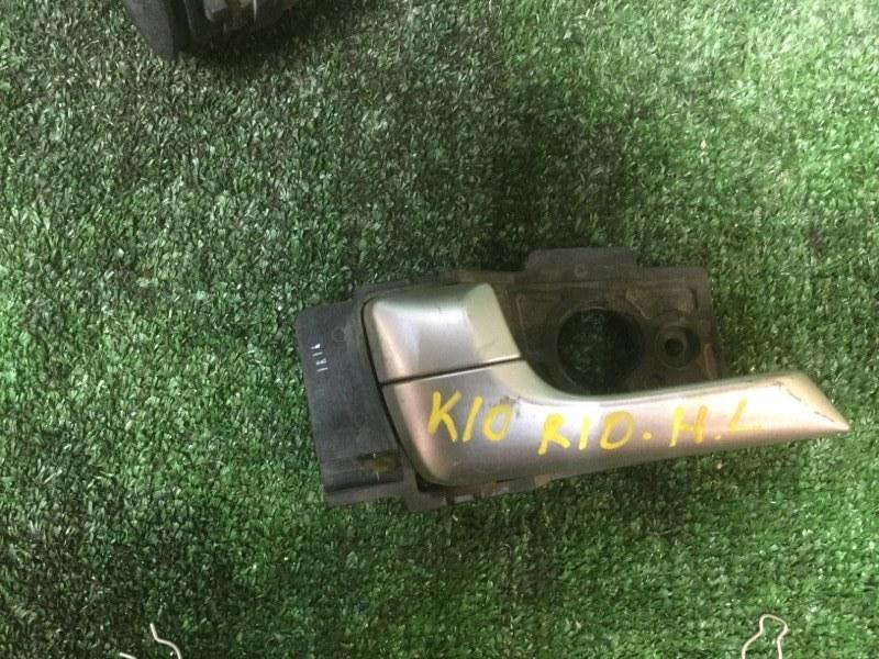 Ручка внутренняя Kia Rio 2012 задняя левая